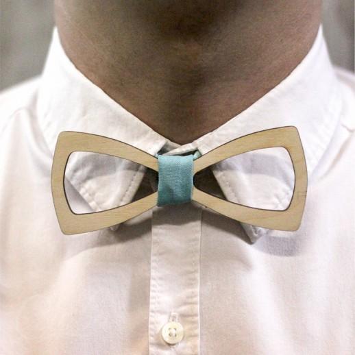 Деревянная галстук-бабочка из фанеры AB022