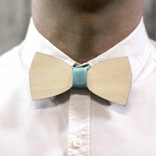Деревянная галстук-бабочка из фанеры AB025
