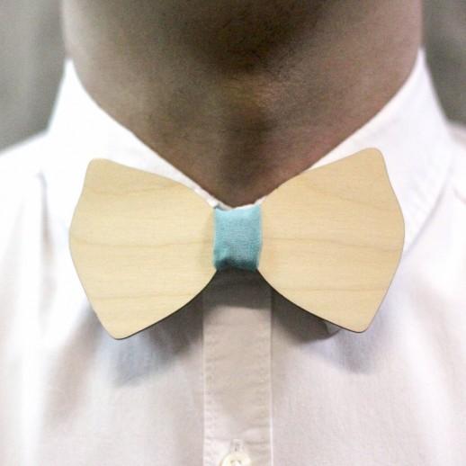 Деревянная галстук-бабочка из фанеры AB027