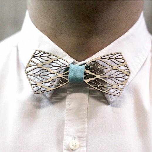 Деревянная галстук-бабочка из фанеры AB031