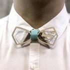 Деревянная галстук-бабочка из фанеры AB032
