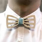 Деревянная галстук-бабочка из фанеры AB033