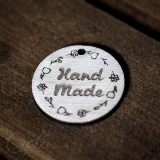 """Бирка """"Hand Made"""" b093"""