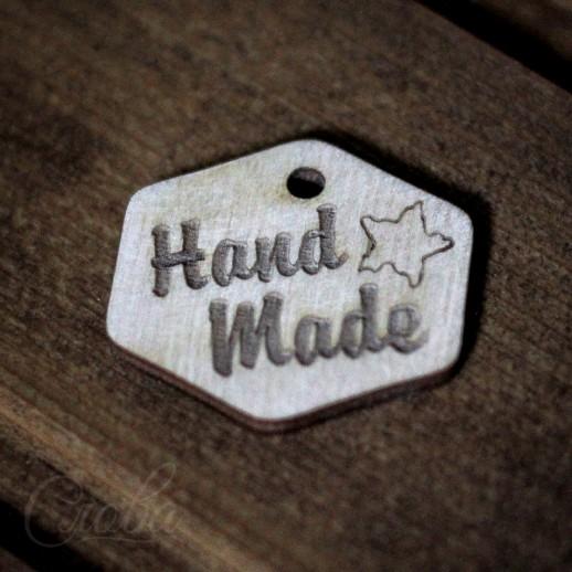 """Бирка """"Hand Made"""" b095"""