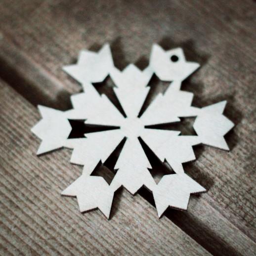 Игрушка Снежинка NY018