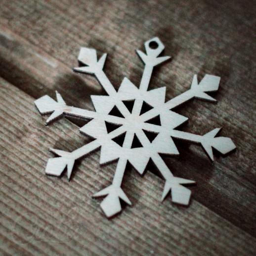 Игрушка Снежинка NY035