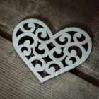 Игрушка Сердце NY086