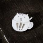 Значок Кот в кружке Z008