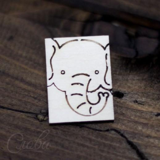 Значок Слон Z106